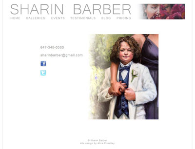 Sharin Barber, artist