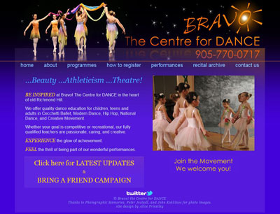Bravo! The Centre for Dance