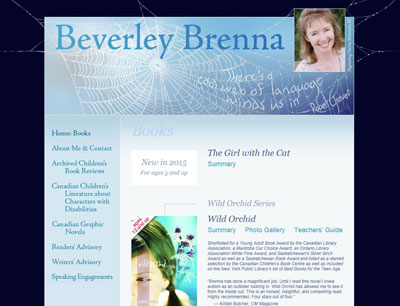 Beverley Brenna - author, professor