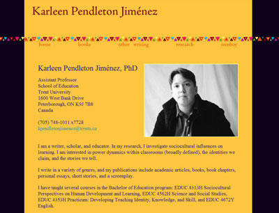 Karleen Pendleton Jiménez - author, professor