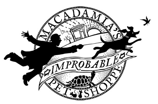 Macadamia's Improbable Pet Shoppe - Bravo the Centre for Dance - recital logo