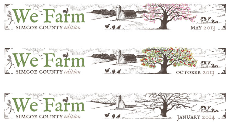 We Farm - newsletter banner